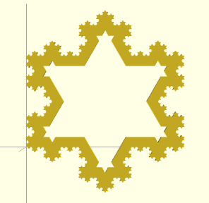 Koch Snowflake model