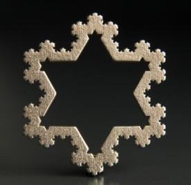 Koch Snowflake Ornament