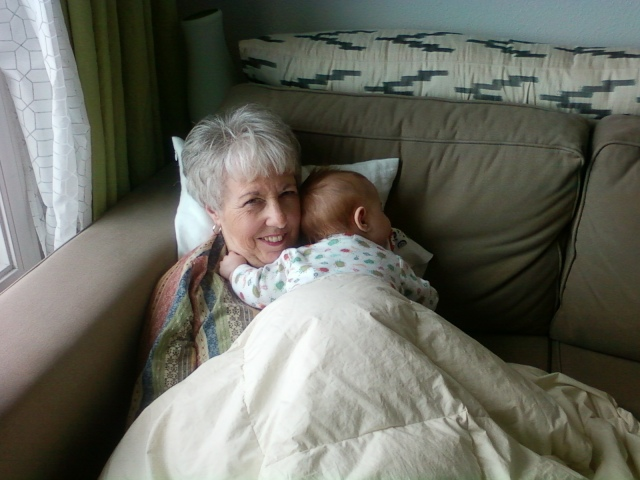 Ever sleeping with Nanna