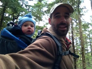 Ever and I on Forest and Muskeg trail