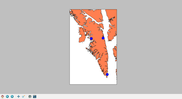 Baranof Island's communities