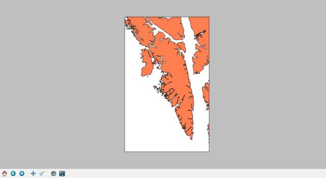 Baranof Island high resolution