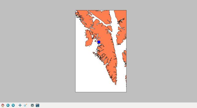 Baranof Island map