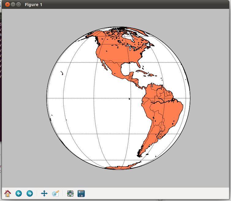 Matplotlib basemap tutorial making a simple map peak 5390 globe centered on equator gumiabroncs Images
