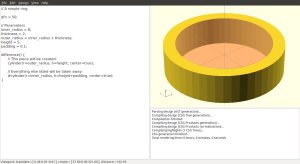 A simple ring, using parameters.