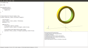 Using modules makes it much easier to rotate and translate complex objects.
