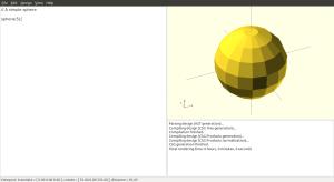 A simple sphere.